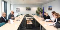Visit of Members of the High Negotiation Committee of Syria to the EC