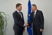 Visite de Hanspeter Wagner, maire de la municipalité de Breitenwang et membre du Comité des régions, à la CE