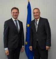 Visit of Hanspeter Wagner, Mayor of the Municipality of Breitenwang and Member of the Committee of the Region, to the EC