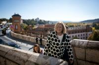 Visite de Corina Creţu, membre de la CE, en Espagne