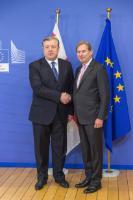 Visit of Giorgi Kvirikashvili, Georgian Prime Minister, to the EC