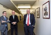Visit of Etienne Davignon, former Vice-President of the EC, and President of Friends of Europe (FoE), and Pascal Lamy, Former Member of the EC, and Honorary President of Notre Europe - Jacques Delors Institute, to the EC