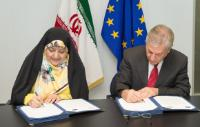 Visit of Masoumeh Ebtekar, Vice-President of Iran and Head of the Iranian Department for Environment, to the EC