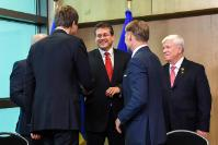 Visit of Stepan Kubiv, Ukrainian First Vice-Prime Minister and Minister for Economic Development and Trade, and Vazil Hudák, Vice-President of the European Investment Bank, to the EC