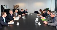 Karmenu Vella receives representatives of Orthongel, Opagac/Agac and Anabac on Ocean Governance and Indian Ocean Strategy