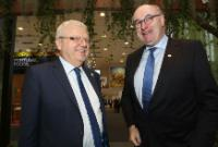 Visit by Vytenis Andriukaitis and Phil Hogan, Members of the EC, to Berlin