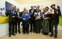 Visite de Vytenis Andriukaitis and Phil Hogan, membres de la CE, à Berlin