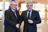 Visit of Antonio Tajani, President of the EP, to the EC