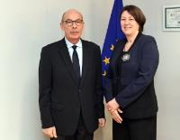 Visit of Bernard Roman, President of the Regulatory Body in the Rail and Road Activities (Arafer), to the EC