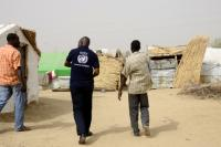 The Chadian returnees camp in Gaoui, Chad