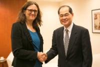 Visit by Cecilia Malmström, Member of the EC, to Singapore