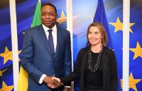 Visit of Mankeur Ndiaye, Senegalese Minister for Foreign Affairs and Senegalese Abroad, to the EC