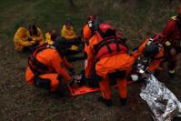 Exercice de protection civile 'EUrban Water Aid Project', en Hongrie