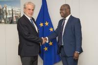 Visit of Eugene Owusu, United Nations Deputy Special Representative in South Sudan (MINUSS), United Nations Resident and Humanitarian Coordinator, and United Nations Development Programme (UNDP) Resident Representative to South Sudan, to the EC