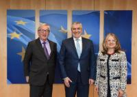 Visit of Călin Popescu-Tăriceanu, President of the Romanian Senate, to the EC