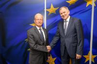 Visit of Aharon Leshno-Yaar, Head of the Mission of Israel to the EU and NATO, to the EC