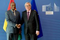 Visit of Alpha Condé, President of Guinea, to the EC