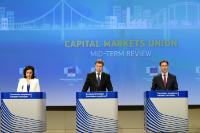 Press conference by Valdis Dombrovskis and Jyrki Katainen  on the Capital Markets Union Mid-term Review