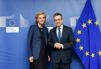 Visit of Valérie Pécresse, President of the Regional Council of Île-de-France, to the EC