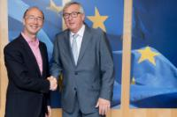Visit of Rudy Demotte, Minister-President of the Government of the Federation Wallonia-Brussels, to the EC.