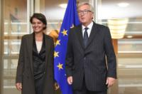 Visit of Najat Vallaud-Belkacem, former Minister of the French Government, to the EC