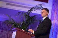 Visit by Valdis Dombrovskis, Vice-President of the EC, to France