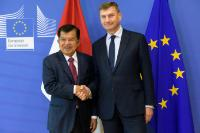 Visit of Jusuf Kalla, Vice-President of Indonesia, to the EC