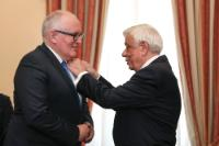 Visit by Frans Timmermans, First Vice-President of the EC, to Greece