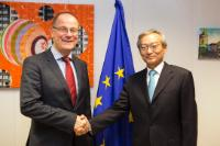 Visit of Zhang Ming, Head of the Chinese Mission to the EU, to the EC