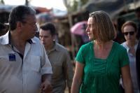 Visite de Federica Mogherini, vice-présidente de la CE à Bangladesh