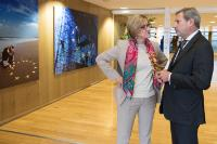 Visit of Johanna Mikl-Leitner, Governor of Lower Austria, to the EC.