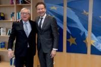 Visit of Jeroen Dijsselbloem, former President of the Eurogroup, to the EC