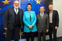 Visit of organisers of the European Citizens Initiative Right2Water, to the EC