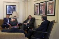 Visite de Johannes Hahn, membre de la CE, en Jordanie