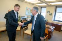 Visit by Valdis Dombrovskis, Vice-President of the EC to the United States of America