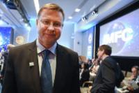Visite de Valdis Dombrovskis, vice-président de la CE,  aux Etats-Unis