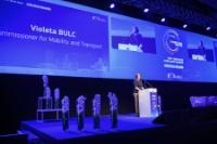 Visite de Violeta Bulc, membre de la CE, en Slovénie