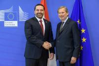 Visit of Saad Hariri, Lebanese Prime Minister, to the EC