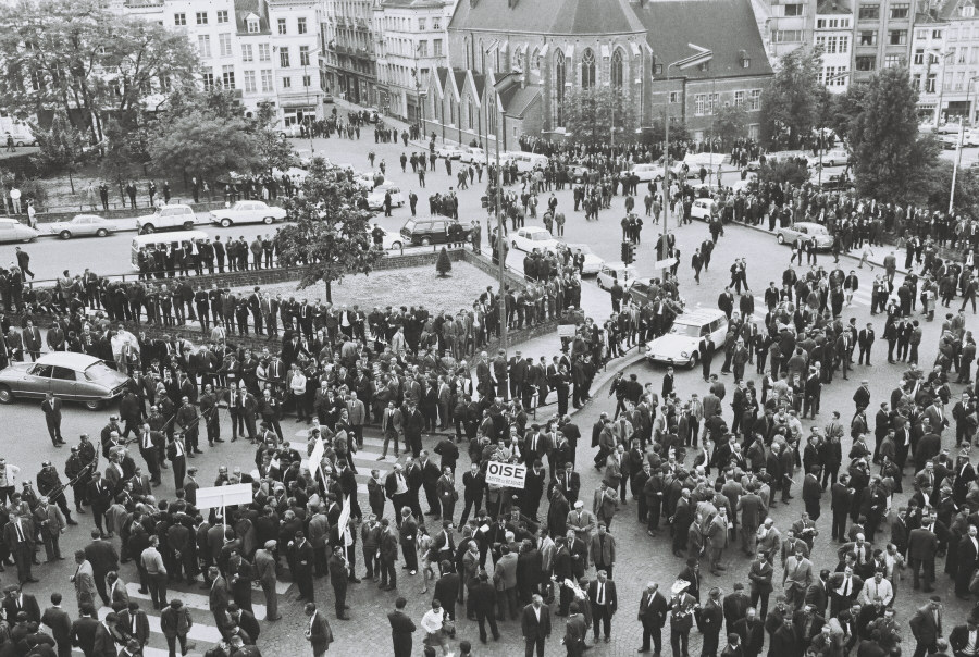 Farmers' demonstration in Brussels