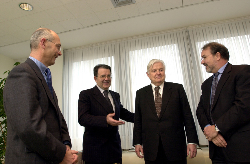 Visit of Robert Mundell, 1999 Nobel Prize Laureate in Economics, to the EC