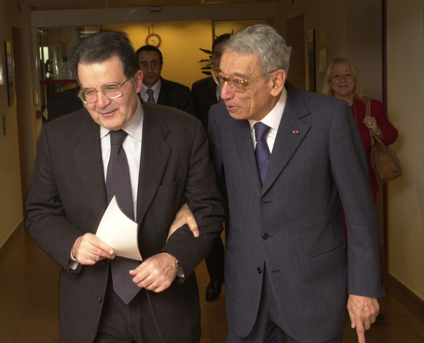 Visit of Boutros Boutros-Ghali to the EC