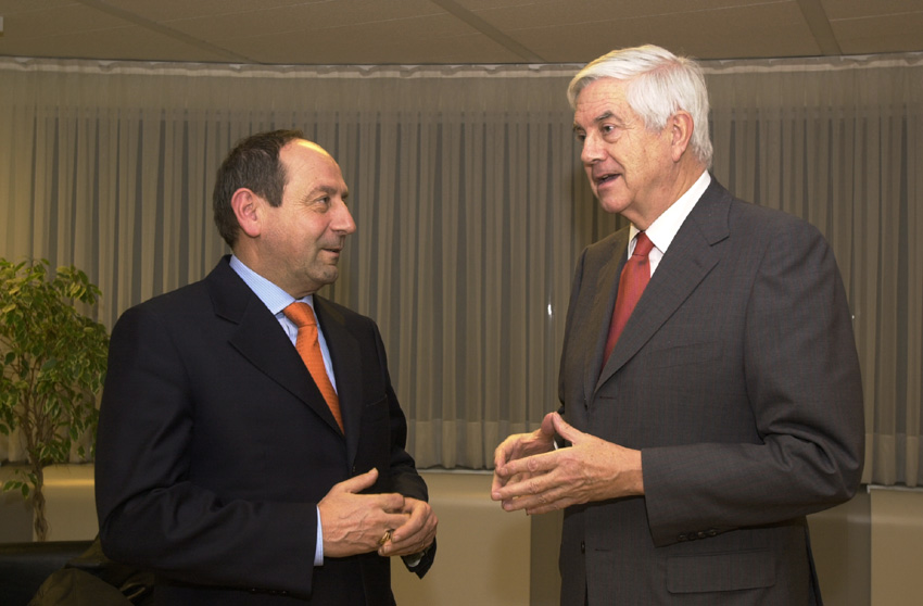 Visit of Clelio Galassi, Secretary of State of San Marino, to the EC