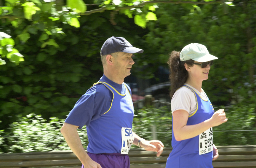 Pascal Lamy, Member of the EC, took part in the Brussels 20 km race