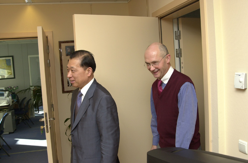 Visit of Zhou Keren, Chinese Vice Minister for Foreign Trade and Economic Cooperation, to the EC