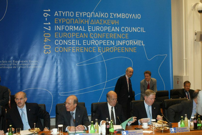 Athens Informal European Council, 16/04/2003
