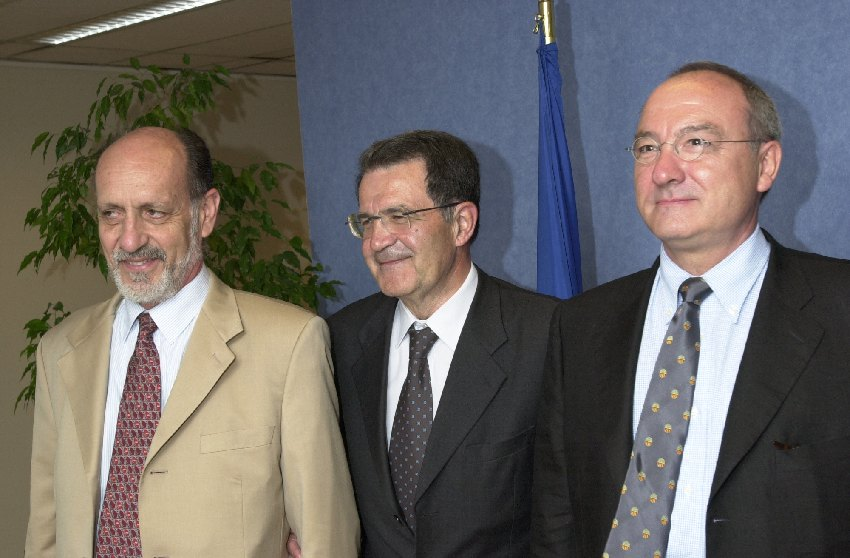 Visit of the Directors General of the European Space Agency to the EC