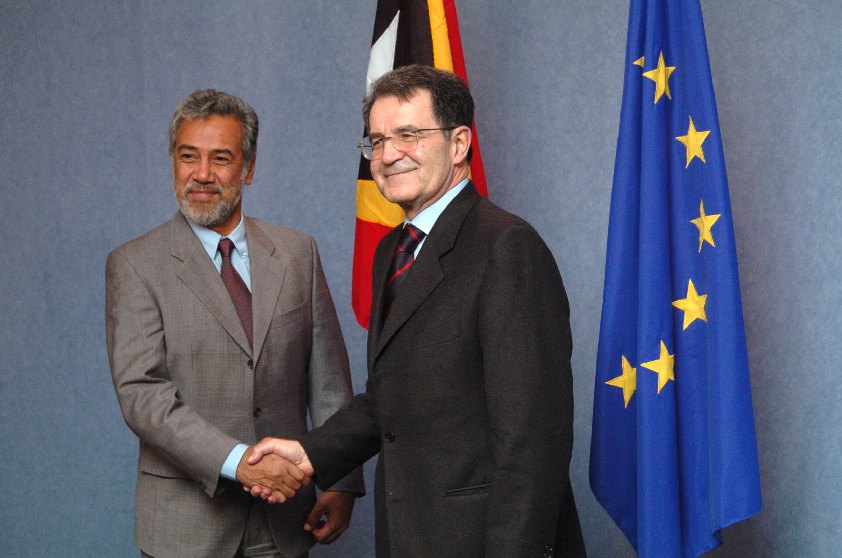 Visit by Xanana Gusmão, President of East Timor, to the EC