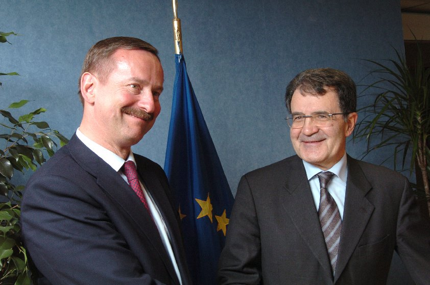 Visit of Siim Kallas, former Estonian Prime Minister, to the EC