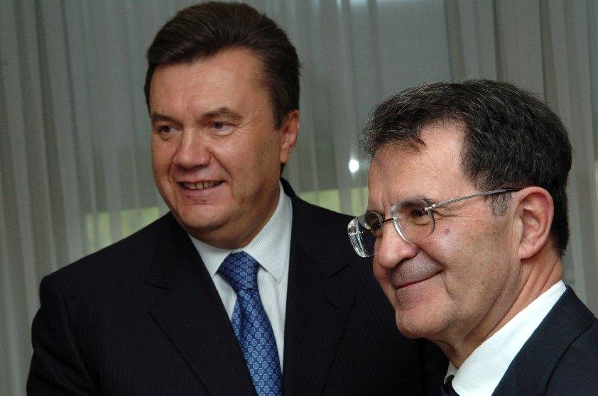 Visit by Viktor Yanukovych, Ukrainian Prime Minister, to the EC