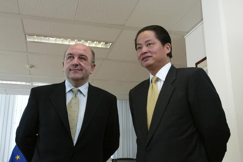 Visit of Shengman Zhang, Managing Director of the World Bank, to the EC